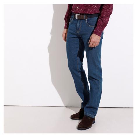 Blancheporte Speciální džíny pro větší bříško denim