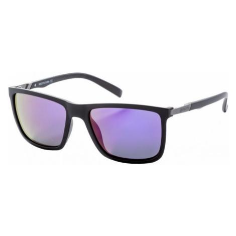 Brýle Meatfly Juno black matt, purple