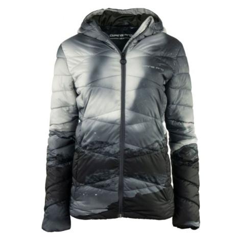 ALPINE PRO WIVIANA šedá - Dámská zimní bunda
