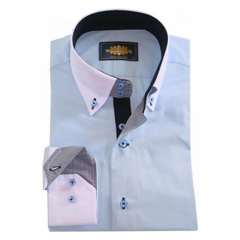 BINDER DE LUXE košile pánská 86001 dlouhý rukáv