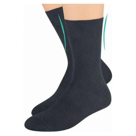 Dámské zdravotní ponožky s lemem 055 STEVEN