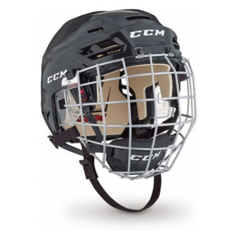 CCM TACKS 110 COMBO SR černá - Hokejová helma