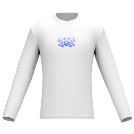 Pánské tričko dlouhý rukáv Slovácký cibulákový vzor