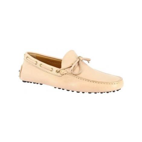 Leonardo Shoes 8103AF MOUSSE TAUPE Růžová