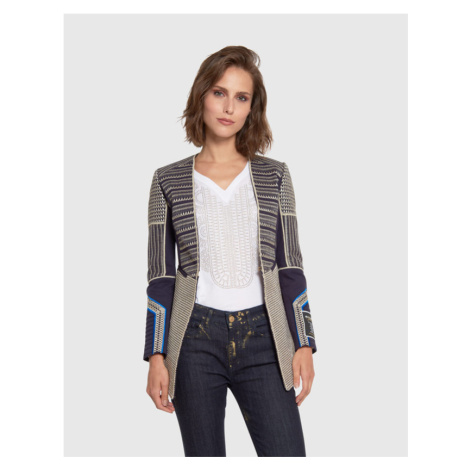Sako La Martina Woman Jacket Twill - Modrá
