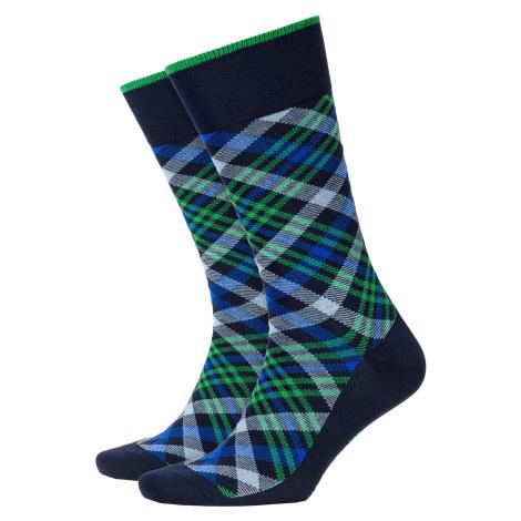 Ponožky Burlington CADOGAN tmavomodrá