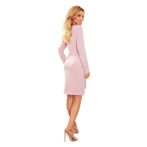 Dámské šaty Numoco 209-7 | světle fialová