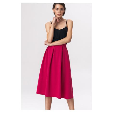Nife Woman's Skirt Sp50 Fuchsia