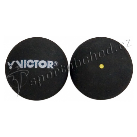 Míček pro squash Victor - 1 žlutá tečka (bez krabičky)
