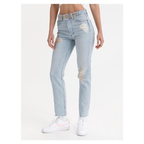 Girly Jeans Guess Modrá