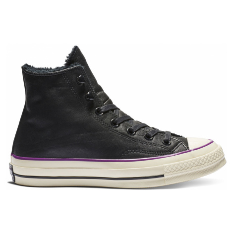 Converse Chuck 70 Street Warmer Leather High Top černé 162433C