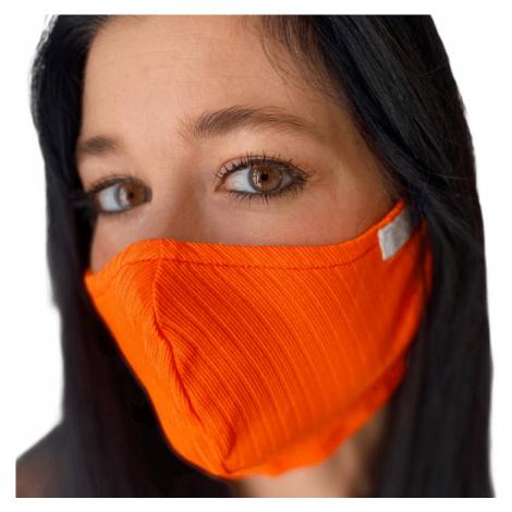 NanoBodix® AG-TIVE rouška FIX Oranžová
