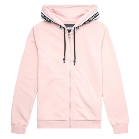Mikina Diesel Uflt-Brandal Sweat-Shirt - Růžová