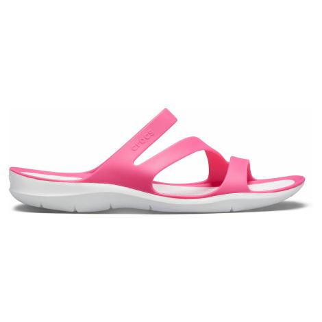 Crocs Swiftwater Sandal W Paradise Pink/White