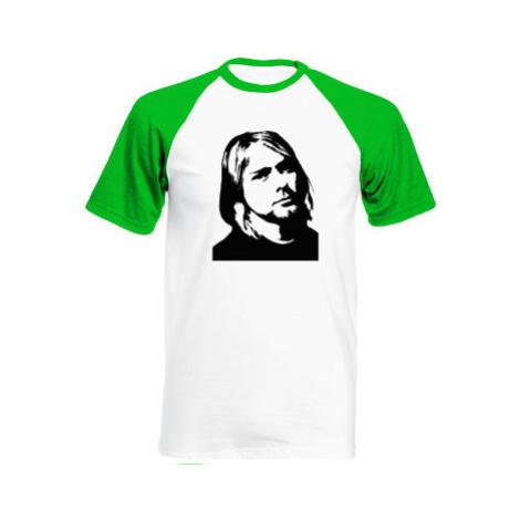 Pánské tričko Baseball Kurt Cobain