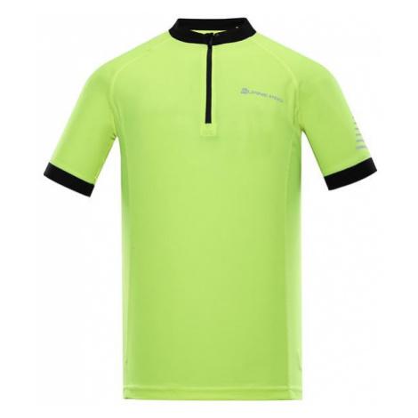 Soran žlutá pánské rychleschnoucí cyklistické triko ALPINE PRO