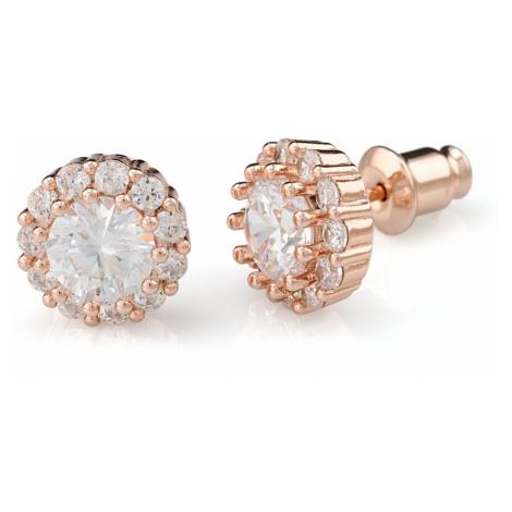 Linda's Jewelry Náušnice bižuterie Classic crystal IN019