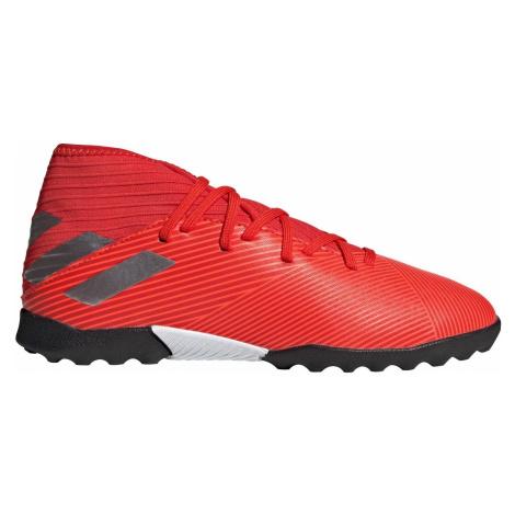 Dětské kopačky adidas Nemeziz 19.3 Turf Červená / Černá