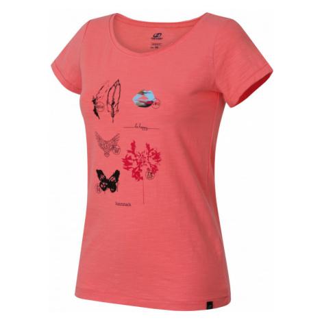 Dámské tričko Hannah Karmela salmon rose