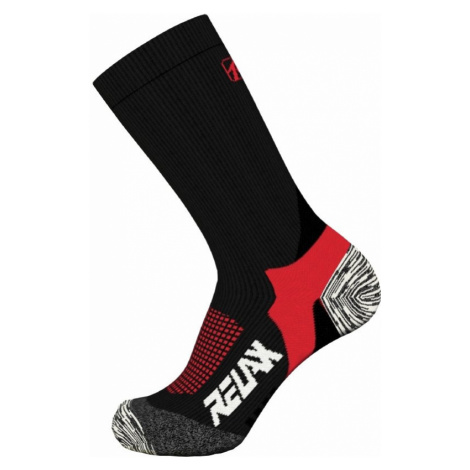 Ponožky Relax Nordic RO37B - černá/červená