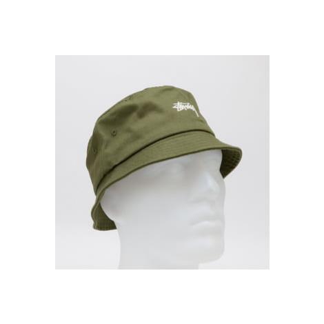 Stüssy Stock Bucket Hat tmavě olivový Stussy