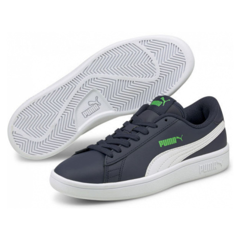 Puma SMASH V2 L JR - Chlapecké vycházkové tenisky