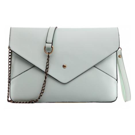 Světle modrá dámská kabelka přes rameno Dalei
