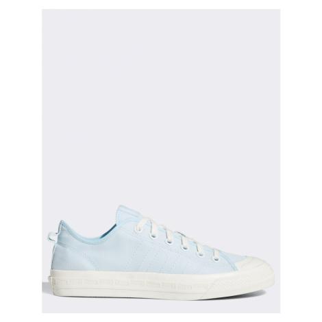 Adidas Originals nizza low trainers in blue