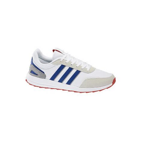 Bílo-modré tenisky Adidas Retro Run X