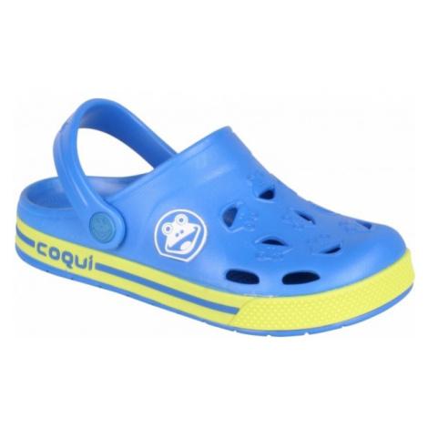Coqui FROGGY modrá - Dětské sandály