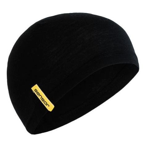 Čepice Sensor Merino Under Barva: černá