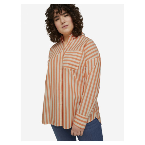 Košile Tom Tailor Oranžová