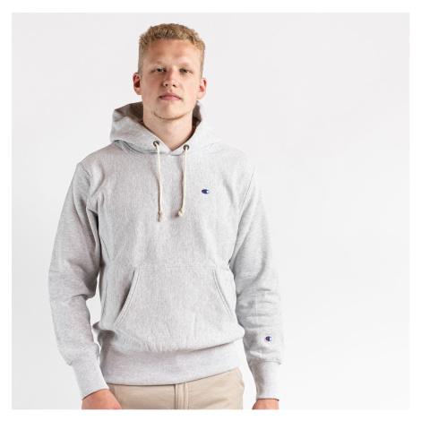 Šedá mikina Hooded Sweatshirt Champion