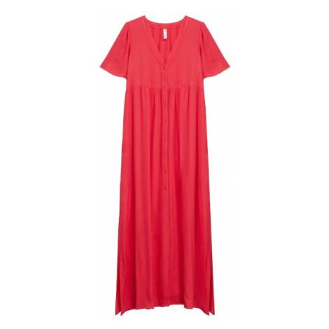 MANGO Šaty 'Sugar' červená