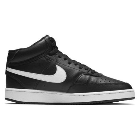 Nike COURT VISION MID WMNS černá - Dámská volnočasová obuv