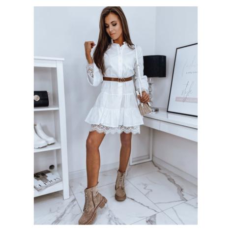 ANGELO dress white EY1469 DStreet