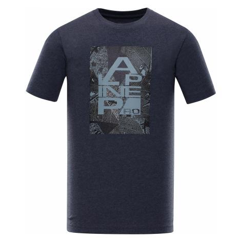 Pánské triko Alpine Pro TIBERIO 7 - tmavě modrá