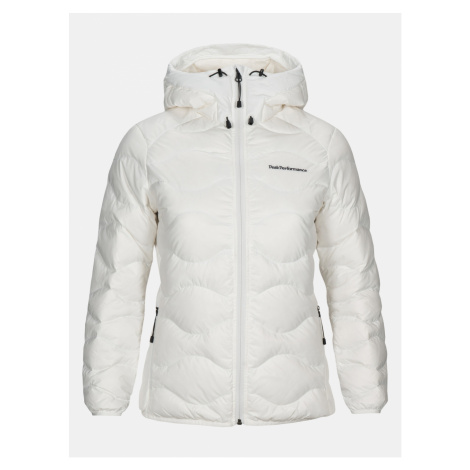 Bunda Peak Performance W Helium Hood Jacket - Bílá