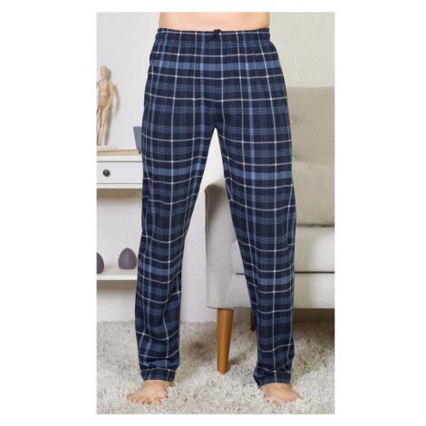 Pánské pyžamové kalhoty Filip, 2XL, modrá Gazzaz