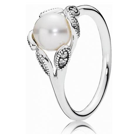 Pandora Něžný prsten s perličkou 190967P