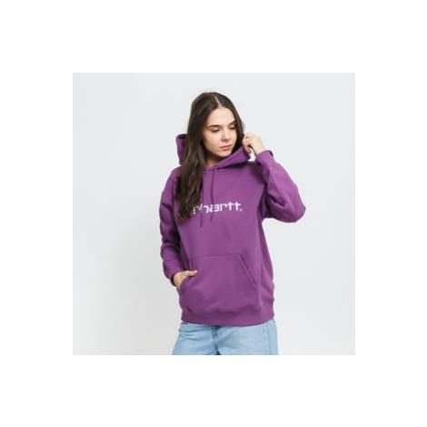 Carhartt WIP W Hooded Carhartt Sweat fialová