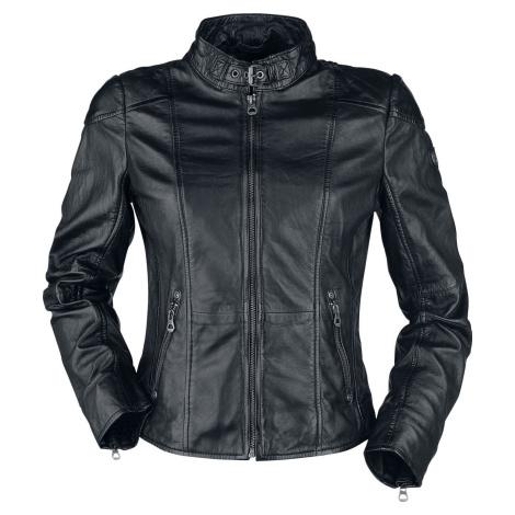 Gipsy Kina S18 LEGV Dámská kožená bunda černá