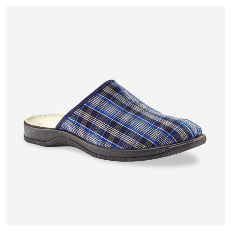 Blancheporte Široké pantofle modrá