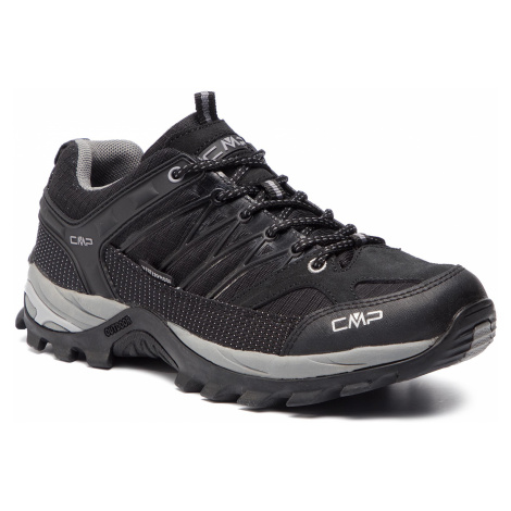 Trekingová obuv CMP - Rigel Low Trekking Shoes Wp 3Q54457 Nero/Grey 73UC
