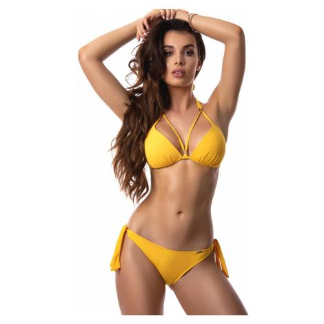 Dámské push-up plavky Paloma 1020 žlutá | žlutá