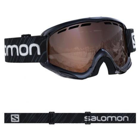 Salomon JUKE černá - Juniorské lyžařské brýle