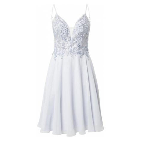 LUXUAR Koktejlové šaty azurová
