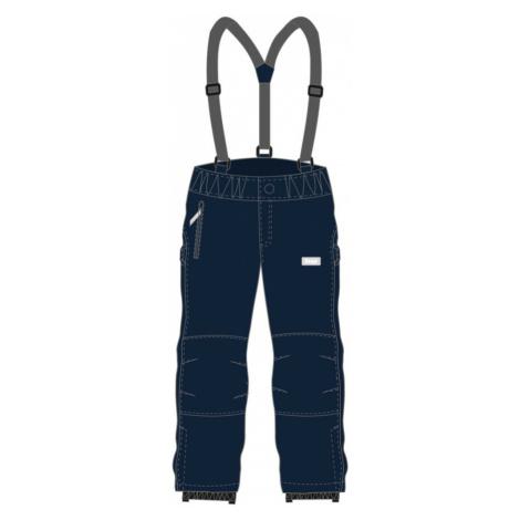LOAP LONNY Dětské softshellové lyžařské kalhoty SFK1911L13L modrá