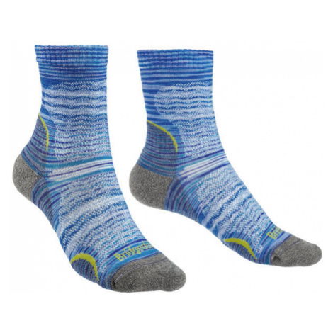Ponožky Bridgedale Hike Ultra Light T2 Merino Performance Women's multi blue/131