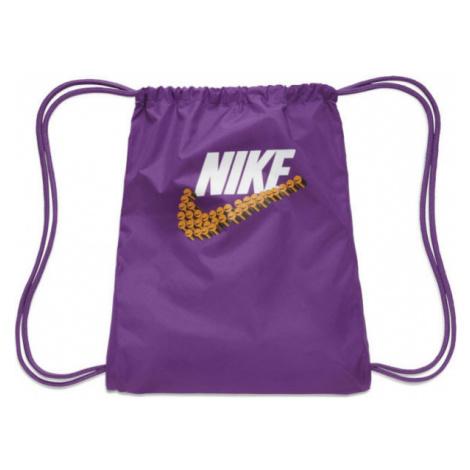 Nike GRAPHIC GYMSACK fialová - Gymsack